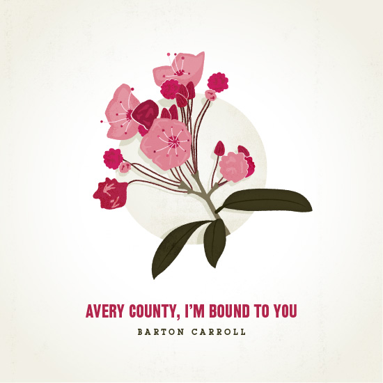 Barton Carroll - Avery County I'm Bound to You